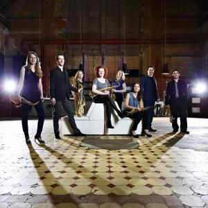 Nederland, Haarlem april 2017 Saxofoon octet amsterdam  Alle rechten voorbehouden/ All Rights reserved foto: Merlijn Doomernik